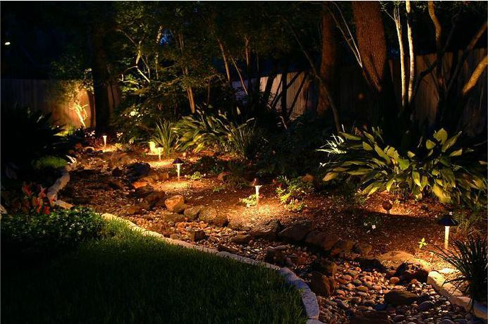 Exceptionnel Rock Garden Landscape Lighting