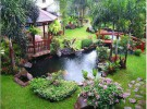 Beautiful pond installation