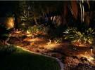 Rock Garden Landscape Lighting