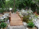 Water Feature with Walkway